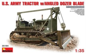 US Army Tractor w/Angle Dozer Blade