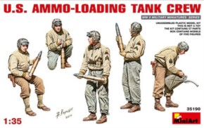 U.S. Ammo-Loading Tank Crew