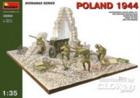 Polen 1944 sov. Artillerie