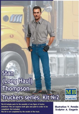 Stan (Long Haul) Thompson, Truckers series No.2, 1 Figur