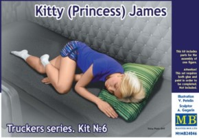 Kitty (Princess) James, Truckers series No.4, 1 Figur