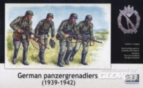 deutsche Panzergrenadiere, 1939-1942
