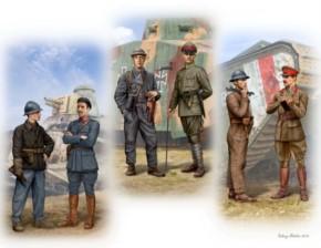 Panzerfahrer WWI, 6 Figuren