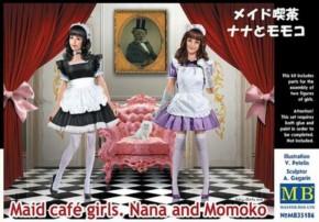 maid cafe girls Nana & Momoko