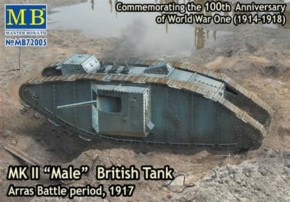 MK II Male British Tank, Arras Battle 1917