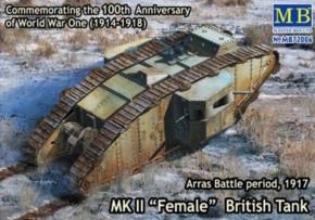 MK II Female British Tank, Arras Battle 1917