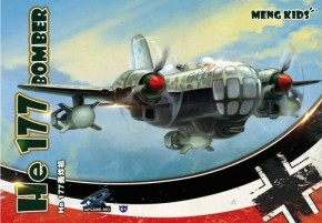 Heinkel He 177, Kids-Kit Special edition white