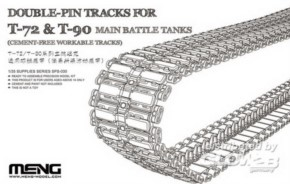 Double-Pin Tracks for T-72  & T-90 main battle tanks, workable