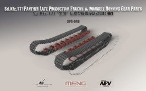 Sd.Kfz. 171 Panther late prod Tracks & Moveable Runn.