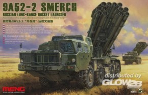 Russian Long-Range Rocket Launcher9A52-2 Smerch