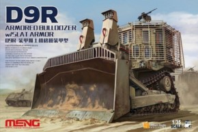 D9R Armored Bulldozer w/Slat Armour