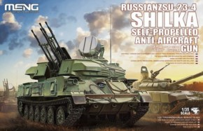 russ. ZSU-23-4 Shilka Self-Propelled Anti-Aircraft Gun