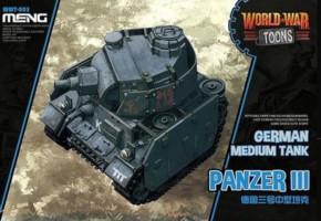 Panzer III, Cartoon-Model