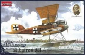 Albatros W.IV, früh