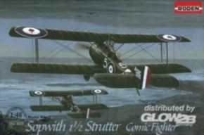 Sopwith 11/2 Strutter comic fighter