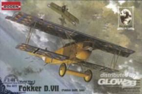 Fokker D.VII F, spät