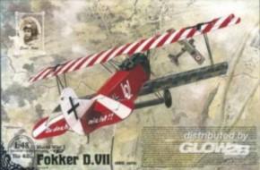Fokker D.VII, früh, OAW built