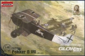 Fokker D.VII, früh, Albatros built