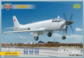 Tupolev Tu-91 Boot sov. naval attack aircraft