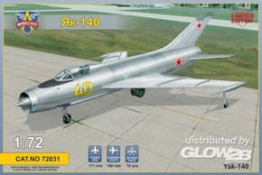 Yakovlev Yak-140 sov. prototyp fighter