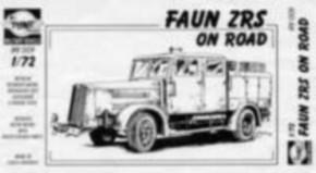 Faun ZRS on Road, Resin-Model, limitiert