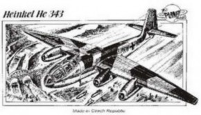 Heinkel He-343, Resin, limitiert
