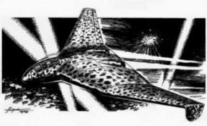 FW Entwurf B 3x1000 Delta Bomber, Resin, limitert