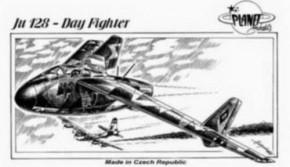 JU 128 (Day Fighter), Resin-Modell, limitiert