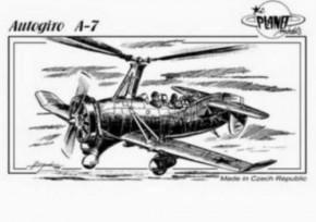 Autogiro A-7, Resin-Modell, limitiert