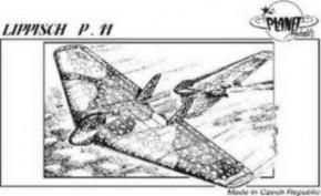 Lippisch P.11, Resin-Modell, limitiert