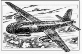 Junkers JU-287 V3 (A1), Resin-Modell, limitiert