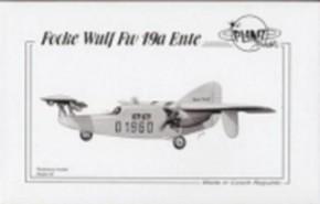 Focke Wulf Fw 19a, Resin-Modell, limitiert
