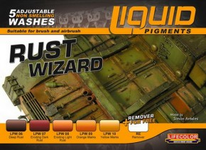Liquid Pigments - Rust Wizzard