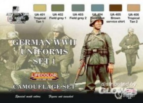 dt. Militäruniformen WWII, Set 1, CS04