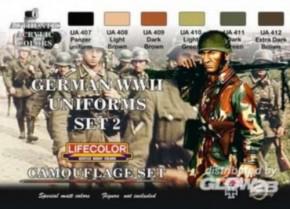 dt. Militäruniformen WWII, Set 2, CS0