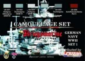 dt. Kriegsmarine WWII, Set 1, CS09
