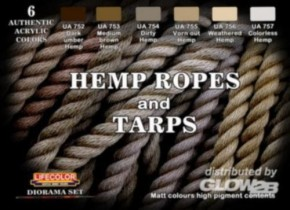 Hemp ropes and tarps, Seilfarben, CS28