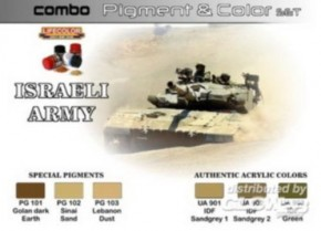 Pigment & Color Set Israeli Army SPG01