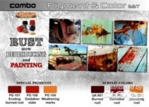 Pigment & Color Set Rust, How reproducing  SPG03