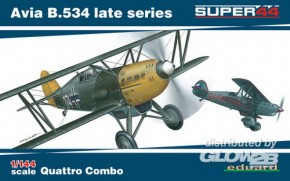 Avia B.534 late series Quattro Combo Super 44
