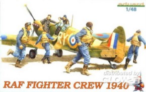 RAF WWII Piloten (Fighter Crew) 6 Figuren