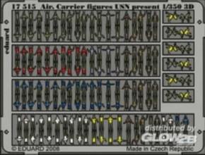 USN-Flugzeugträger-Figuren modern, Color-Fotoätzt