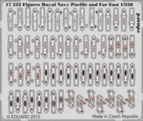 Royal Navy Marine-Pacific-Figuren WWII,Fotoätzt.