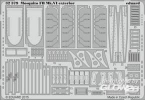 Mosquito Mk.IV exterior, Fotoätzteile (TAM)