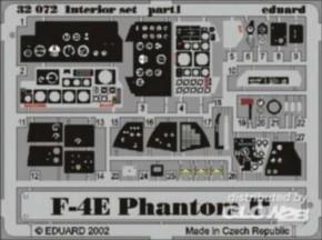 F-4E Phantom Interior, Color-Fotoätzteile (TAM)