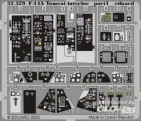 F-14A Tomcat interior, Color-Fotoätzteile (TAM)