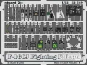 F-16CJ Fight.Falcon, interior Colorätzteille(TAM)