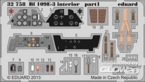 Bf 109E-3 interior, Fotoätzteile (CyberHobby)