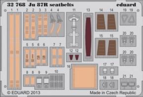 Ju-87R Sitzgurte, Fotoätzteile (TRU)