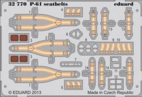 P-61 Sitzgurte, Fotoätzteile (HB)